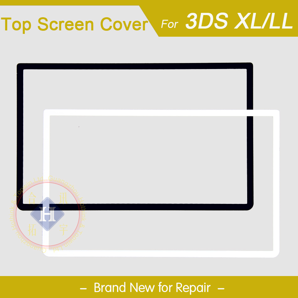 HOTHINK New Top Upper LCD Screen Plastic Cover Replacement Part For Nintendo 3DS XL / 3DS LL