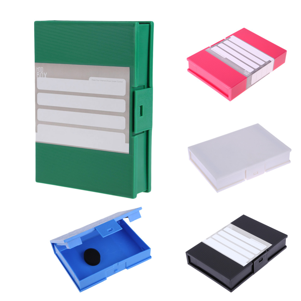 New Storage Case Box Protective Enclosure for 3.5inch SATA IDE HDD Hard Disk Drive Case free shipping for hp designjet 5100 hard disk drive hdd ide or sata cg710 60009 plotter part