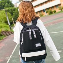 Korean version of Harajuku womens shoulder bag junior high school student backpack
