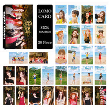 Youpop KPOP TWICE SUMMER NIGHTS Album LOMO Cards K-POP New Fashion Self Made Paper Photo Card HD Photocard LK586(China)