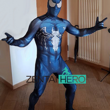 zentaihero 3D Printed Venom Spiderman Costumes Custom Symbiote Spider-Man Lycra