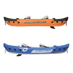Image 3 - Jaycreer 2 Người Bơm Hơi Kayak Với Mái Chèo, Tải Trọng 160KGS, Chất Liệu 0.57 Mm PVC, Kích Thước: 321X88 Cm Xanh Dương 351X76 Cm Màu Cam