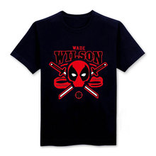 Deadpool Printed Men T Shirt Fashion Short Sleeve Funny Casual Tops T-Shirts Summer Cool Cosplay Tee Men's Clothing