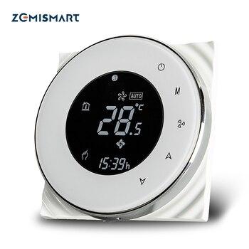 Thermostat WiFi pour climatisation Compatible avec Amzon Alexa Google accueil vie intelligente app contrôle programmable