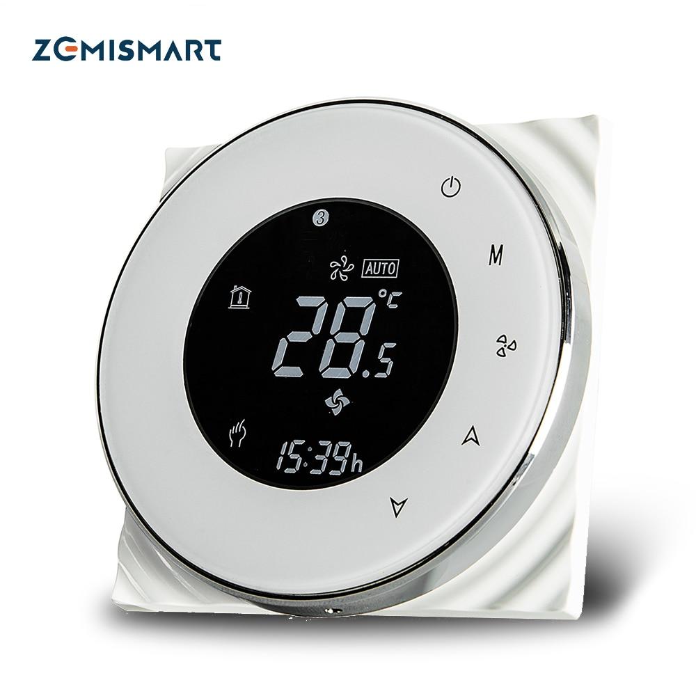 WiFi termostato para aire acondicionado Compatible con Amzon Alexa Google vida inteligente aplicación de Control Programable