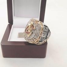 Que Puede Vencer A Nuestros Anillos, alta Calidad 2016 Cleveland Cavaliers Anillo Campeonato Del Mundo de Baloncesto deportes de encargo con Cajas De Madera