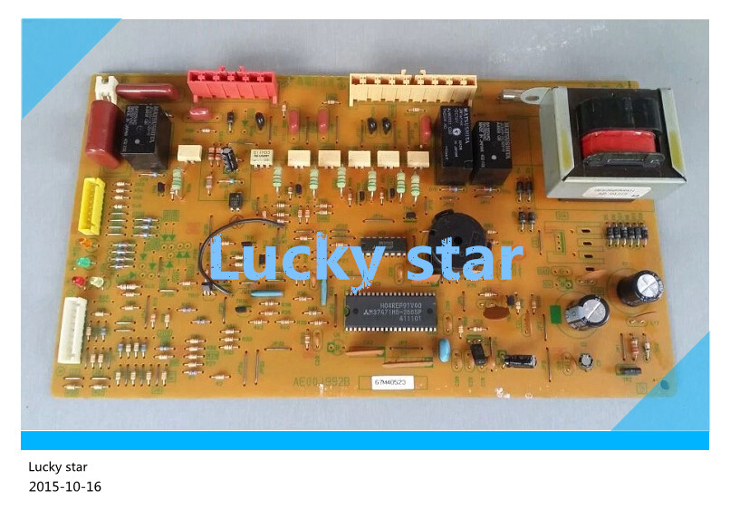 95% new for refrigerator computer board circuit board AE00J992B 67M40523 board good working95% new for refrigerator computer board circuit board AE00J992B 67M40523 board good working