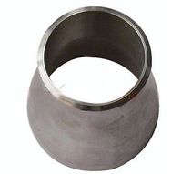 89x76mm 304 Stainless Steel Concentric Reducing Butt Welded Pipe Fitting Water Gas Oil