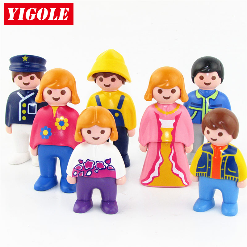 Single One Sales Original Playmobil Summer Fun City Life Action Figures 7 Style kids Best Figure Toys Birthday Gift ...