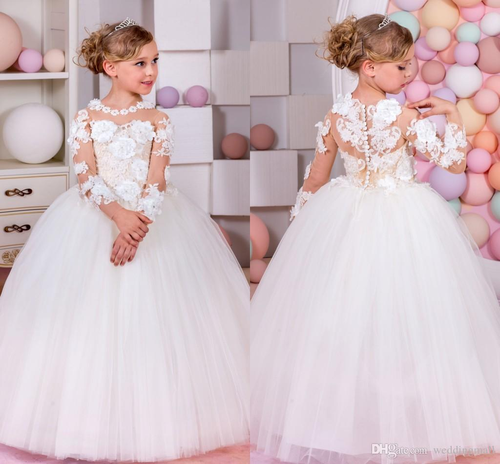 Online buy wholesale baby pageant gowns from china baby for Wedding dresses for young girls