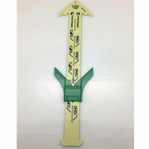5-в-1 скользящий Калибр с Нэнси измерительный швейный инструмент для лоскутного шитья линейка портного инструмента Аксессуары для домашнего использования