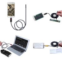 7mm Lens 2 5 10M Android Endoscope HD Inspection USB Snake Camera Endoscope Mini Waterproof Camera
