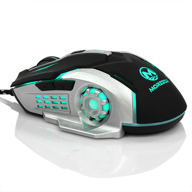 Adjustable 3200 DPI Mouse Led Backlight 6D Wired Gaming Mouse Pro Coumputer Mice For PC Laptop Play DOTA2 CS GO LOL High Quality