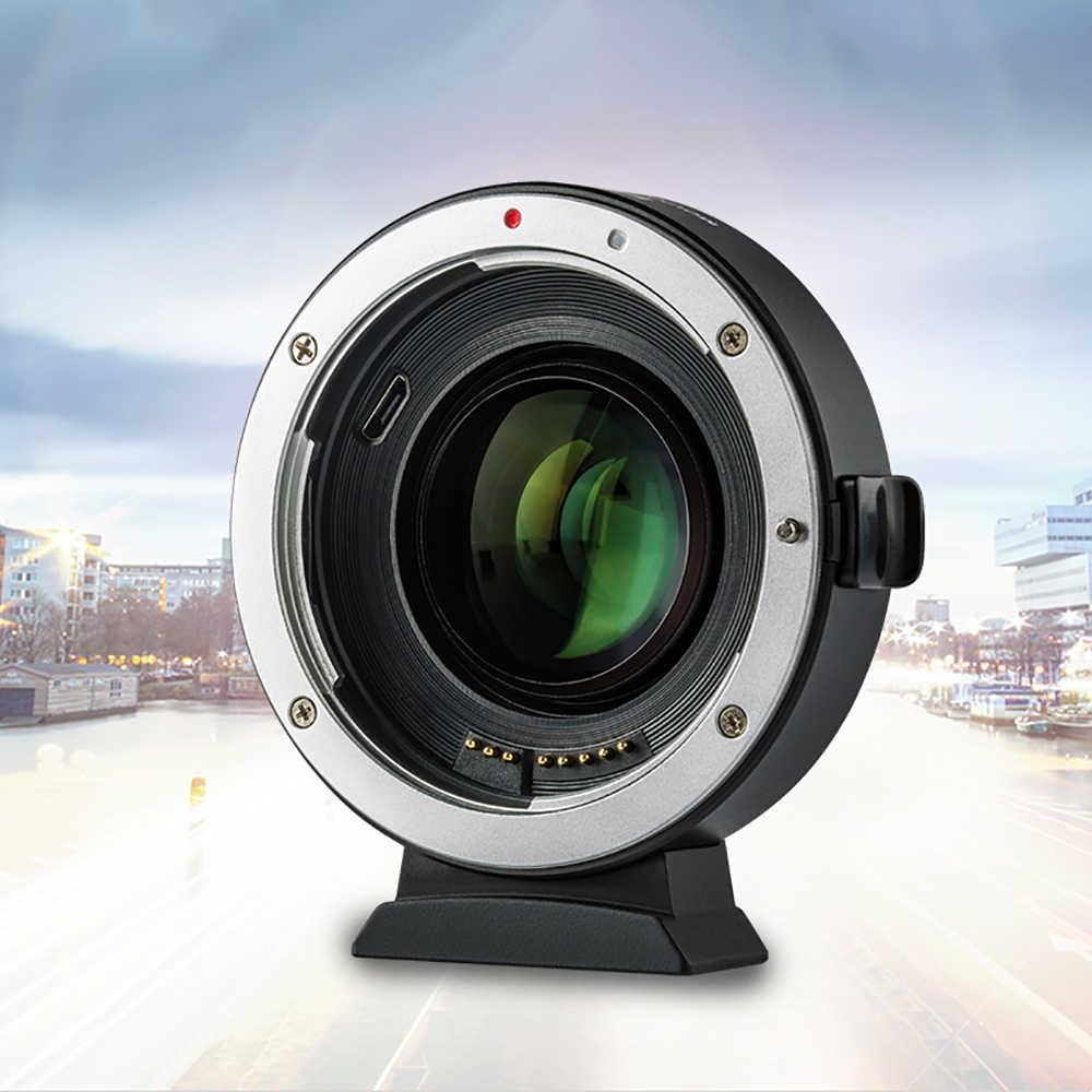 Viltrox EF-EOSM M2 AF авто-фокус EXIF 0.71X уменьшить Скорость Booster объектив адаптер Turbo для объектива Canon EF для EOS M5 M6 M50 Камера