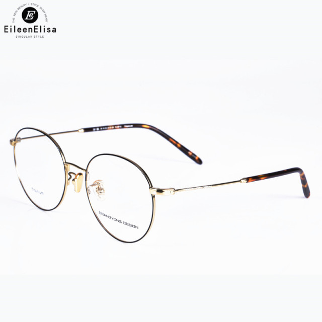 cc62632114a 2017 EE Gold Vintage Glasses Frame Women Men Retro Round Metal Eyeglasses  Myopia Optical Eyewear Oculos De Grau