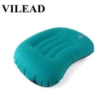 VILEAD 5 Color Portable Inflatable Pillow 47X32cm Outdoor Hiking Travel Cushion Plane Beach Sleep Ultralight Soft Camping Mat