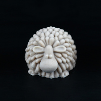 Medium Curly Sheep Handmade Chocolate Mold Silicone Mould For Animal Shape Soap Mould