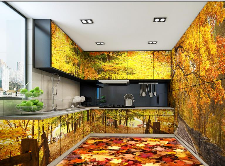 Compare prices on vinyl flooring online shopping buy low for Floor 3d wallpaper