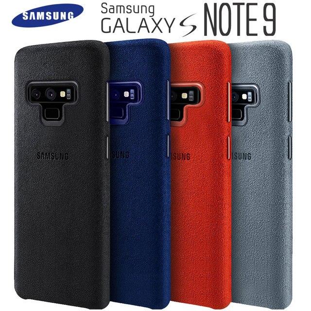 Чехол для Samsung Note 9, 100% оригинальный защитный чехол из натуральной замши для Samsung Galaxy Note 9, чехол для Galaxy Note9