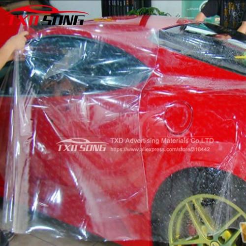 1.52*15 m/LOT Effacer Voiture Peinture De Protection Feuille Pour Vehcile Emballage Peinture Protection Film Enveloppe De Voiture Clair protection Film
