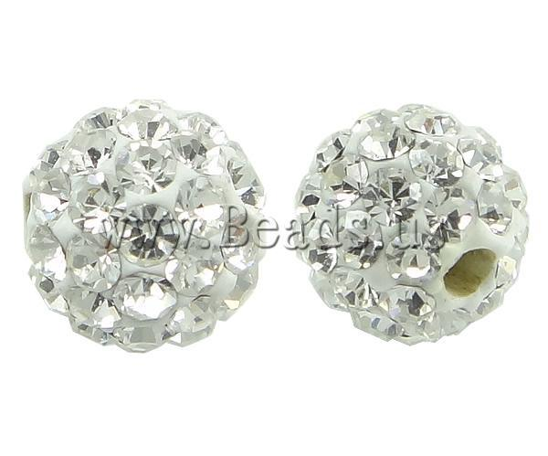 New Arrival 10pcs   bag Chunky Crystal Rhinestone Beads Bling Resin Ball  Beads Chunky Beads for Chunky Necklace Jewelry 3f155c1b5e4b