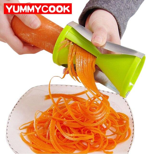 obst gemse spiral shred reiben cutter werkzeuge gurke salatschneider kchenhelfer esszimmer zubehr liefert produkte - Esszimmer Zubehor