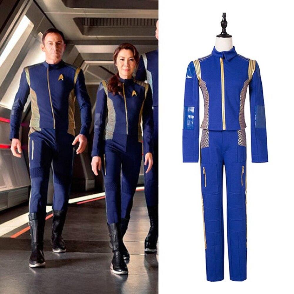 2017 Κοστούμια Discovery Star Trek με σήμα - Καρναβάλι κοστούμια - Φωτογραφία 1