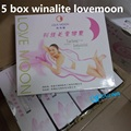 5 Box wholesale winalite lovemoon anion pad anion sanitary napkin feminine hygiene product