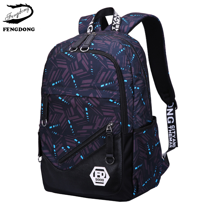 Fengdong 2018 Fashion Men Backpack Best Travel Anti Theft Laptop Male Backpack Boy School Shoulder Bag Everyday Mochila Bagpack