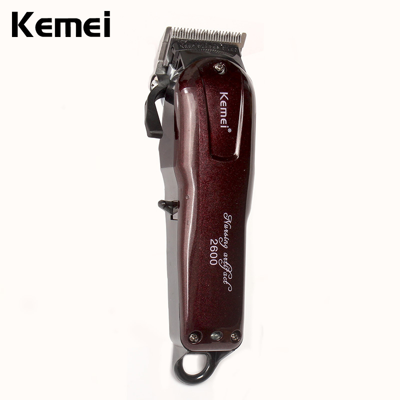 Kemei Electric Washable Hair Clipper Rechargeable Professional Hair Trimmer Shaver Razor Cordless Adjustable Clipper philips s531 rechargeable electric shaver water washable razor