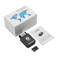 TK206 OBD2 Car Gps Tracker Real Time Tracker Car Vehicle With Tracking System Anti Theft Car Kit LBS For Universal Car