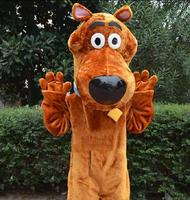 New Hot Selling Scooby Doo Cartoon Mascot Costume Free Shipping cosplay costume