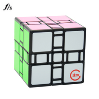 Fangshi 3 3 3 Mixup Transparent Unstickered 3x3x3 Mixup Puzzle Cubes Educational Toy Special Toys For