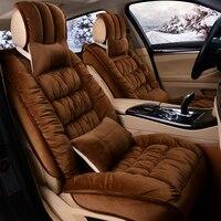 3D полностью закрытых зима сиденья Коврики автомобиль Стайлинг Термальность Нескользящие Подушки для Audi A1 A3 A4 A6 a7 B8 B7 B6 b5 C6 C7 A8 A8L Q3 Q5 Q7
