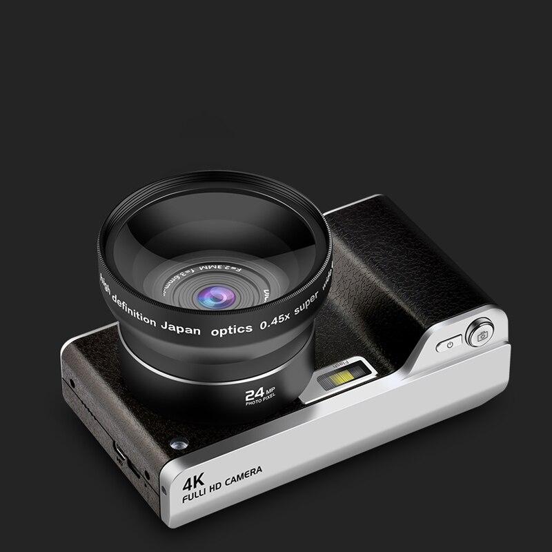 4.0 pouces caméra numérique Full HD 1080 P 24MP 8X Zoom caméra numérique enregistreur vidéo haute qualité écran tactile caméra