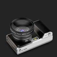 Cámara Digital de 4,0 pulgadas Full HD 1080P 24MP 8X Zoom pantalla táctil cámara Digital grabadora de vídeo táctil de alta calidad cámara de pantalla