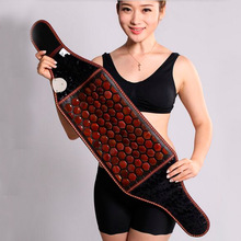 Electric Jade Vibration Heating Waist Support Belt Vibration Thermal Heated Massage Belt for Sale