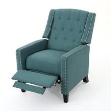 Izaak Tufted Back Fabric Recliner Chair