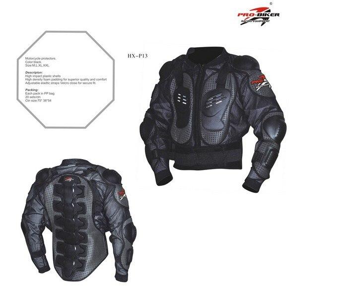 Offre spéciale PRO moto complet gilet de Protection de la poitrine de la colonne vertébrale