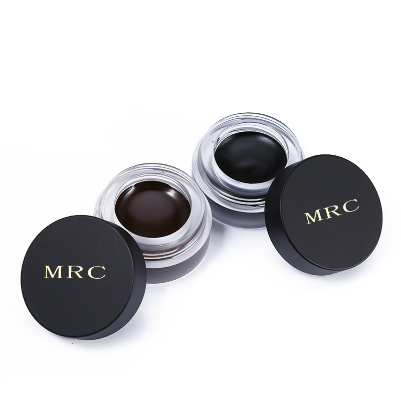 Super Black Color Brand Makeup Eyeliner Gel Waterproof Eye Liner Cream Brown Fast Dry Maquiagem Long Lasting Eyelid Make Up