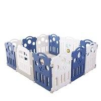 Детский игровая площадка Крытый Домашний ребенок Детская безопасность ударопрочный забор ползающий коврик детская площадка