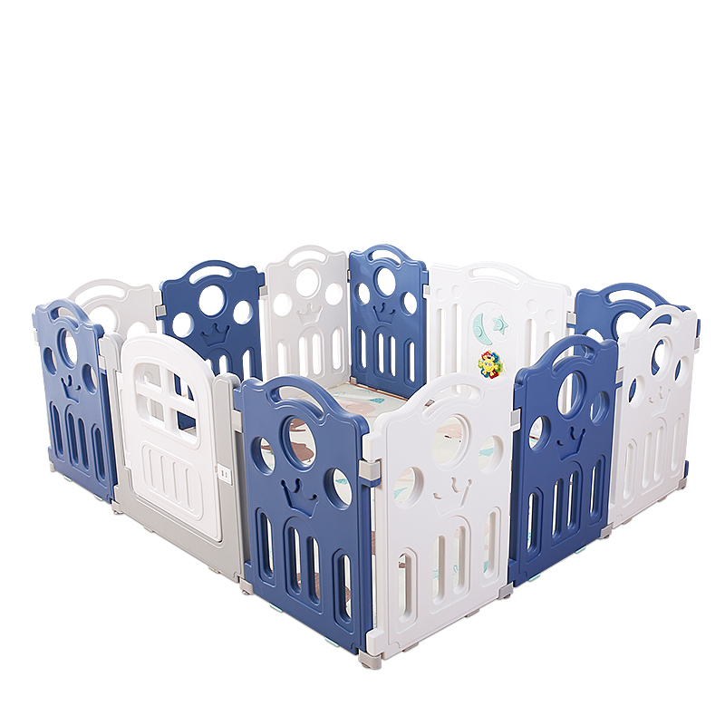 children's play fence indoor home baby baby safety shatter-resistant fence crawling mat toddler playground shatter