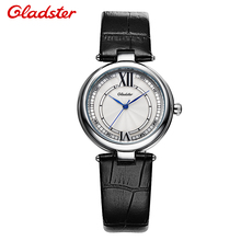 Relogio Feminino Gladster Watch Women Quartz Analog Date Leather Band Casual Watch Brand Waterproof Ladies Watches Sports Clock