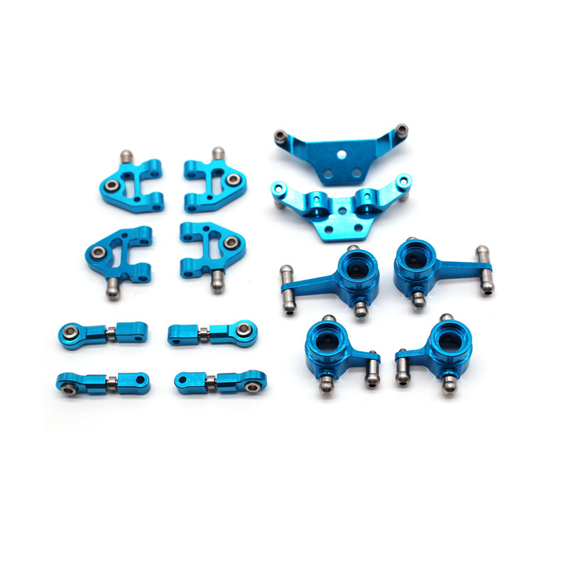 Kit de pièces métalliques de mise à niveau pour WLtoys 1/28 P939 K969 K979 K989 K999 pièces de voiture RC