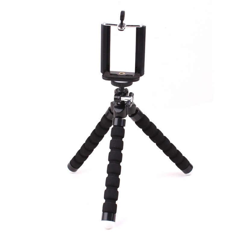 Foleto 2in1 自動車電話ホルダー三脚タコ Selfie ホルダースタンドホルダーマウント iphone 4 4 グラム 5 5 グラムサムスン galaxy S2 S4 i9200