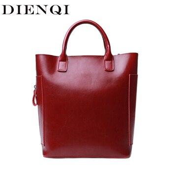 35afa373e91d DIENQI Высокое качество Натуральная кожа женская сумка красная женская  кожаная сумка женская маленькая сумка через плечо сумка для женщин нов.