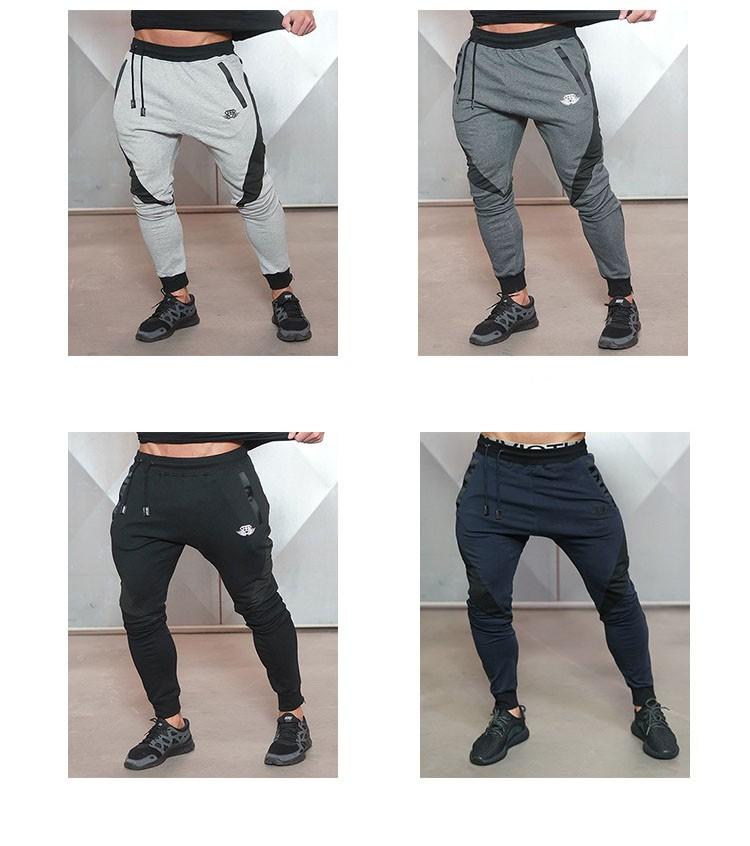 Aolamegs Mens Joggers Pants Gyms Fitness TrainingRunningJogging Pants Male Gymshark Bottoms Bodybuilding Sweatpants Sportswear (6)