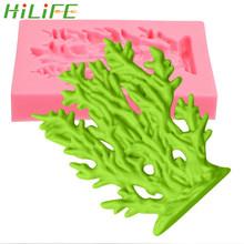 HILIFE Cake Decorating Tools Coral Mold For Fondant Cake Bread Jelly Chocolate Ice Pudding Food-grade Silicone Cooking Tools(China)