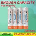 Golooloo baixa auto-descarga 10 pçs/lote enelong baterias ni mh nimh aaa 900 mah 1.2 v ni-mh recarregável bpi bateria