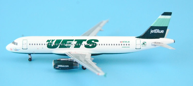 new Fine Aeroclassics 1: 400 American JetBlue A320 N746JB Alloy aircraft model Collection model Holiday gifts fine special offer jc wings 1 200 xx2457 portuguese air b737 300 algarve alloy aircraft model collection model holiday gifts